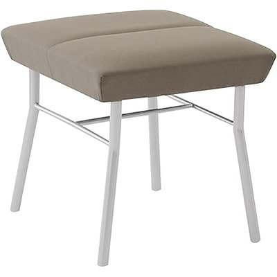Lesro Mystic Reception Collection in Deluxe Fabric; 1-Seat Bench