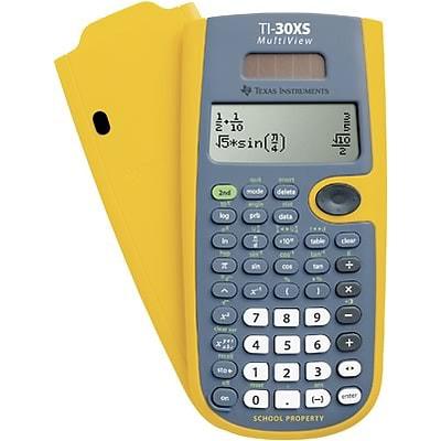 Texas instruments ti-30xs multiview calculator class pack   schoolmart.