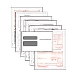 W-2 Pre-Packaged Laser Sets, 6 Part, 50 Pack, with Envelopes