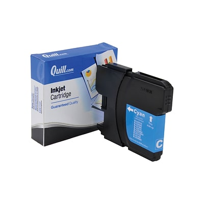 Quill Brand Compatible Brother LC61C Inkjet Cartridges; Cyan (100% Satisfaction Guaranteed)
