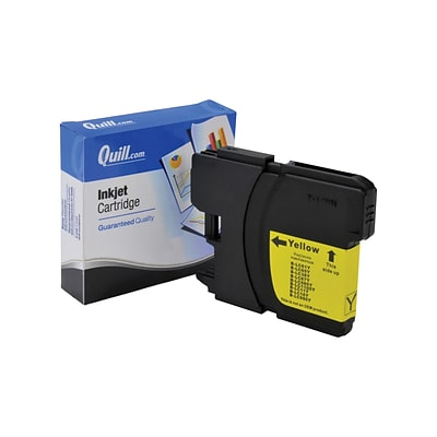 Quill Brand Compatible Brother LC61Y Inkjet Cartridge; Yellow (100% Satisfaction Guaranteed)