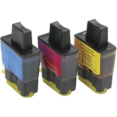 Quill Brand Compatible Brother MFC210C (LC41CL) (LC41CL3PKS) Tri-Color Ink Cartridges Triple Pack (100% Satisfaction Guarantee)