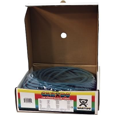 Cando® Resistive Exercise Tubing 100 Foot Dispenser; Heavy, Blue