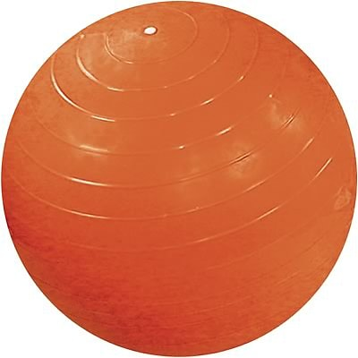 Cando® Inflatable Exercise Ball; 55cm - 22, Orange