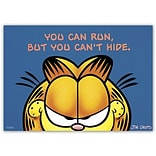 Garfield™ Standard 4x6 Postcards; You Can Run