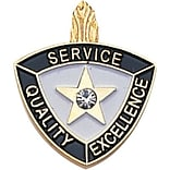 Service Quality Excellence Lapel Pin