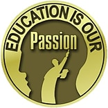 Education is Our Passion Lapel Pin