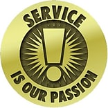Service is Our Passion Lapel Pin