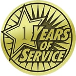1-Year of Service Lapel Pin