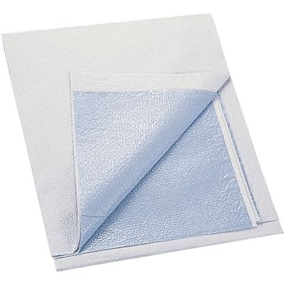 Medline Drape Sheets; 40x48, Blue