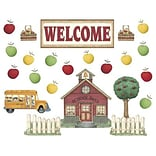 Schoolhouse Welcome Bulletin Board Set