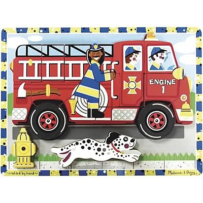Melissa & Doug® Chunky Puzzles, Fire Truck