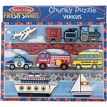 Melissa & Doug® Chunky Puzzles, Vehicles