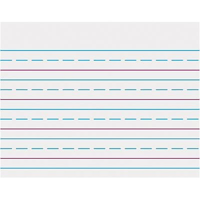Trend® Wipe-Off Charts; Handwriting Paper