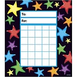 Trend® Incentive Pads; Gel Stars