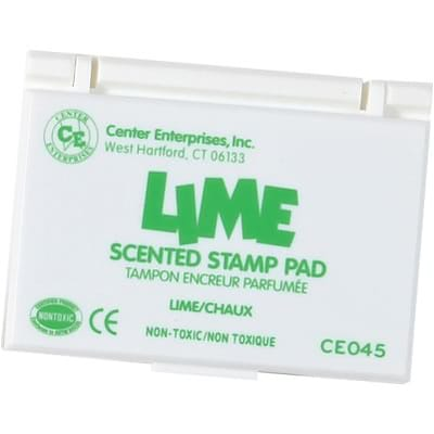 Center Enterprises Scented Stamp Pad/Refill; Lime/Green