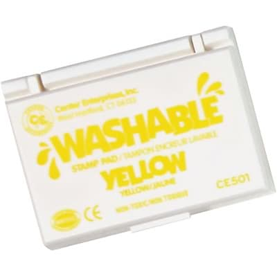 Washable Stamp Pads; Center Enterprises Yellow