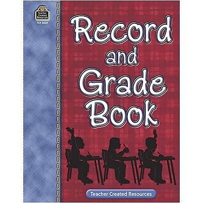 Teacher Record Books; Teacher Created Resources Record & Grade Book