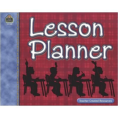 Teacher Plan Books; Teacher Created Resources Lesson Planner