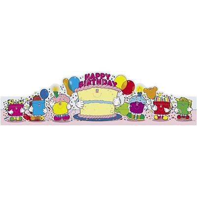 Carson-Dellosa Happy Birthday Crowns, Pack of 30 (CD-0232)