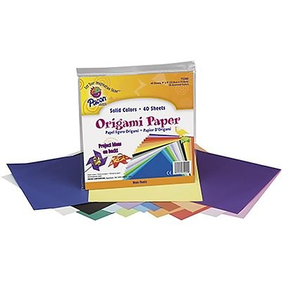 Pacon® Origami Paper; 9x9, Assorted Colors