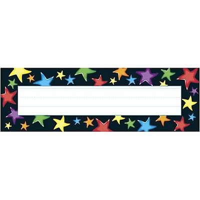 Trend® Desk Toppers® Name Plates; Gel Stars