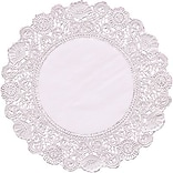 Hygloss 6 White Round Doilies