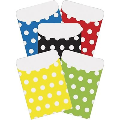 Top Notch Polka Dots Pockets; Assorted