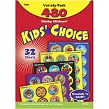 Trend Kids Choice Stinky Stickers Variety Pack, 480 CT (T-089)