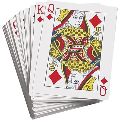 Probability; Learning Advantage™ Giant Playing Cards