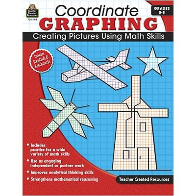 Graphing; Teacher Created Resources Coordinate Graphing Skill Book