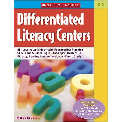 Scholastic Reading Skills Resources; Differentiated Literacy Centers