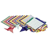 Roylco Economy Origami Paper, 6 x 6, Assorted Designs, 72 Sheets (R-15204Q)