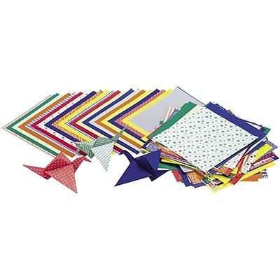 Roylco® Craft Papers; Origami Paper, Economy