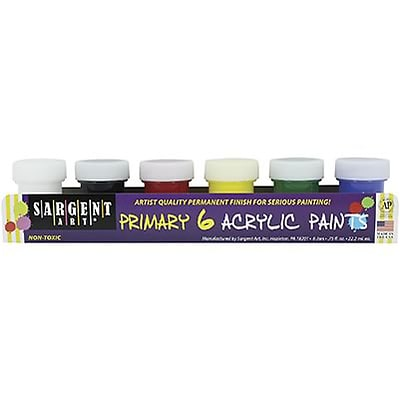 Sargent Art® Acrylic Paint Sets; Traditional Colors