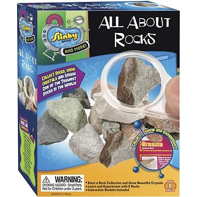 Planetary Science; POOF® Slinky® All About Rocks Mini Lab