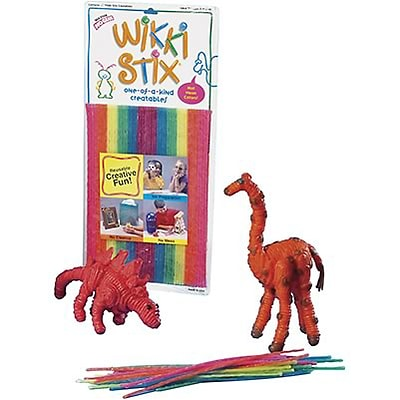 Wikki Stix® Waxed Yarn Sticks; Neon Colors
