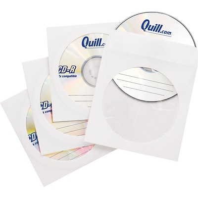 Quill Brand® Paper CD Envelopes; 50-Pack