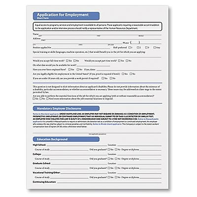 Complyright Application For Employment  QuillCom