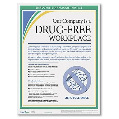 ComplyRight™ Drug Free Workplace Poster
