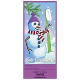 Medical Arts Press® Gift Certificates; Snow Man