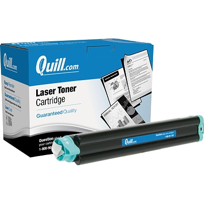 Quill Brand Laser Toner Cartridge Comparable to OKI® 43502301 Black (100% Satisfaction Guaranteed)