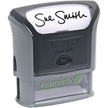 7/8x2-3/8 Self-Inking Message Stamp