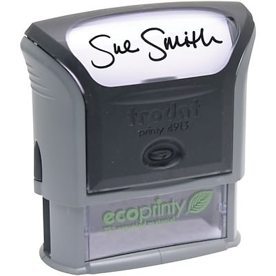 Trodat® Eco-Printy Self-Inking Message Stamp; 7/8x2-3/8, Up to 5 Lines