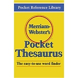 Webster's Pocket Thesaurus