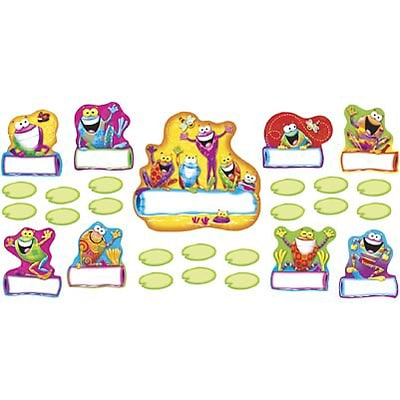 Trend® Bulletin Board Sets, Frog-Tastic Helpers