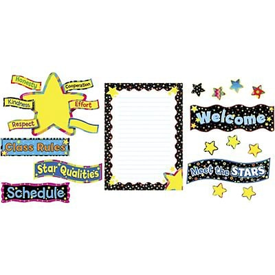 Carson-Dellosa Bulletin Board Sets; Back-to-School Stars