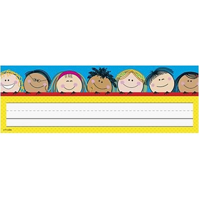 Name Plates; Smiling Stick Kids