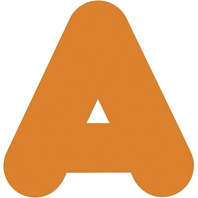 Trend® 4 Ready Letters®, Casual Orange