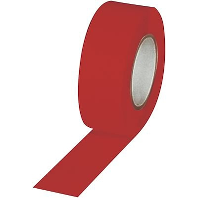 Floor Marking Tape; Red